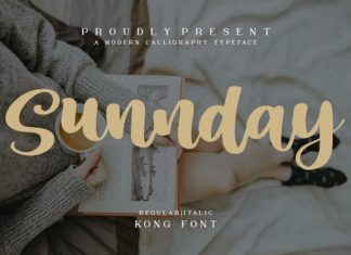 Sunnday Font