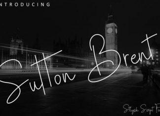 Sutton Brent Font