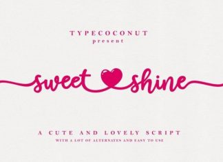 Sweet Shine Font