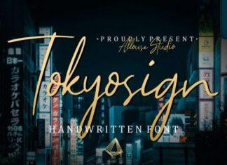 Tokyosign Font