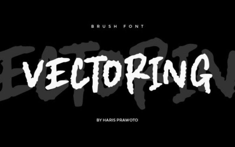 Vectoring Font