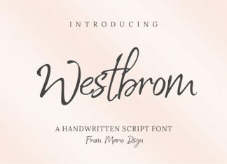Westbrom Font