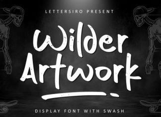 Wilder Artwork Font