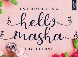 Hello Masha Font