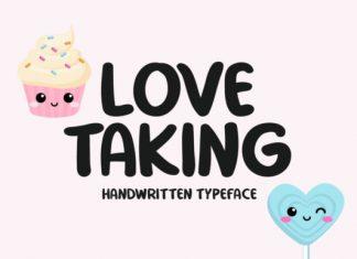Love Taking Font