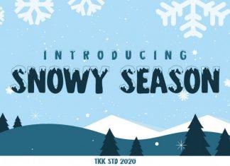 Snowy Season Font