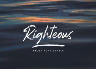 Righteous Font