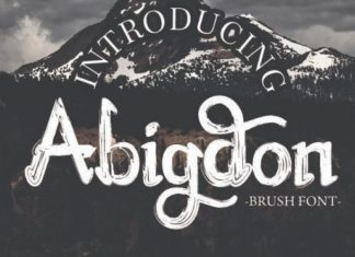 Abingdon Font
