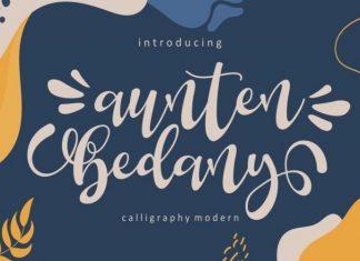 Aunten Bedany Font