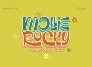 Mollie Rocky Font