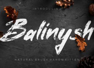 Balinysh Font