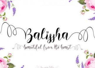 Balissha Font