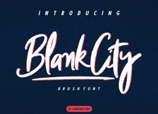BlankCity Font