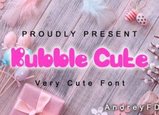 Bubble Cute Font