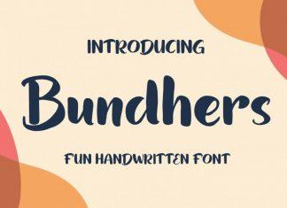 Bundhers Font