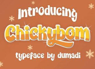 Chickybom Font