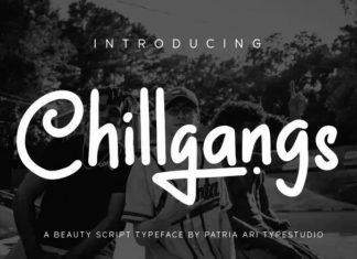 Chillgangs Font
