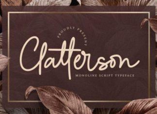 Clatterson Font