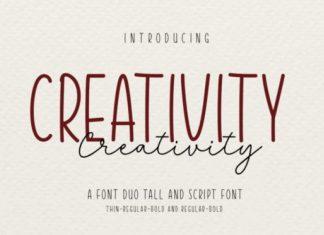 Creativity Font