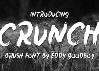 Crunch Font