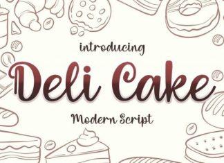 Deli Cake Font