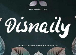 Disnaily Font