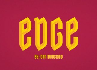 Edge Font