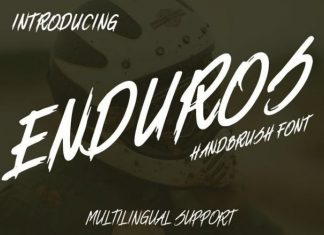 ENDUROS Font