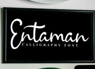 Entaman Font