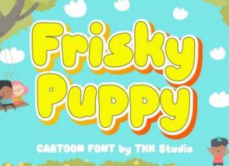 Frisky Puppy Font
