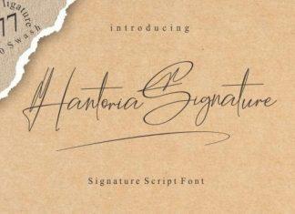 Hantoria Font