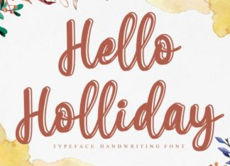 Hello Holliday Font
