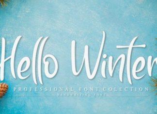 Hello Winter Font