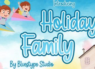 Holiday Family Font