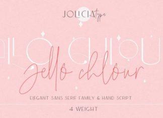 Jello Chlour Font
