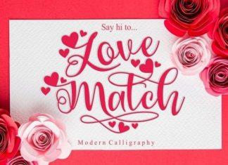 Love Match Font
