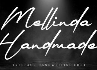 Mellinda Handmade Font