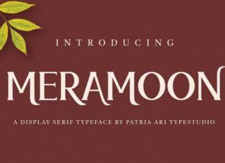 Meramoon Font