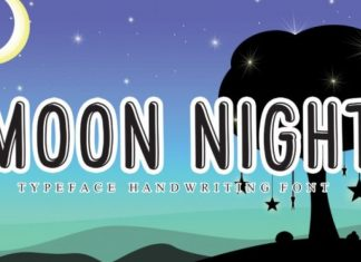 Moon Night Font