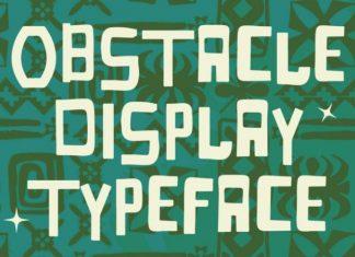 Obstacle Font