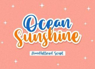 Ocean Sunshine Font