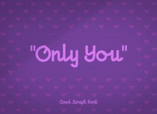 Only You Font