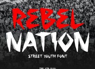 Rebel Nation Font