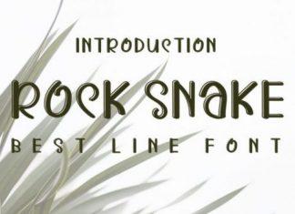Rock Snake Font