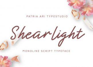 Shearlight Font