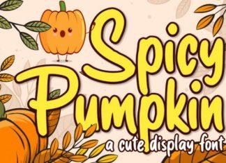 Spicy Pumpkin Font