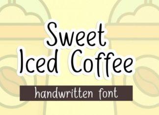 Sweet Iced Coffee Font