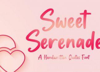 Sweet Serenade Font