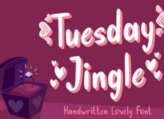 Tuesday Jingle Font