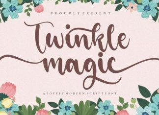 Twinkle Magic Font